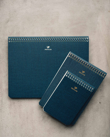 Postalco Dark Blue Notebooks