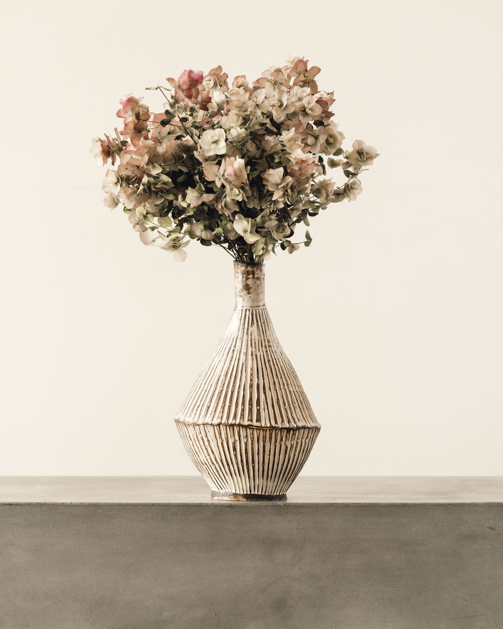 Ayame Bullocks Striped Vase