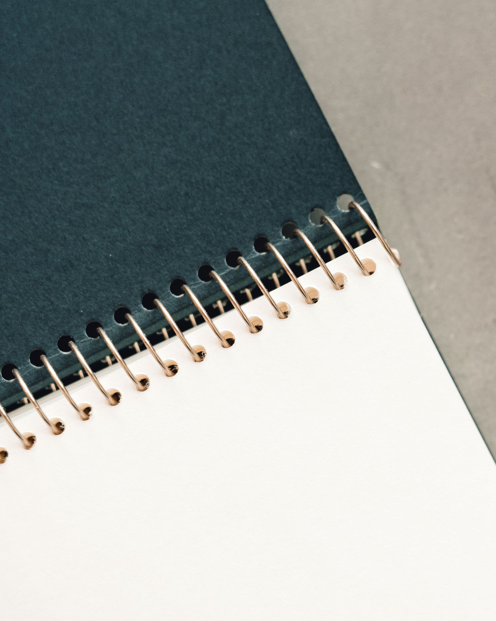 Postalco Square Dyed Notebooks, Moss