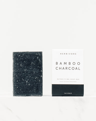 Herbivore Botanicals Bamboo Charcoal Soap