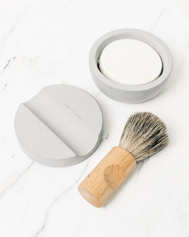 Shaving Cup with Soap Set