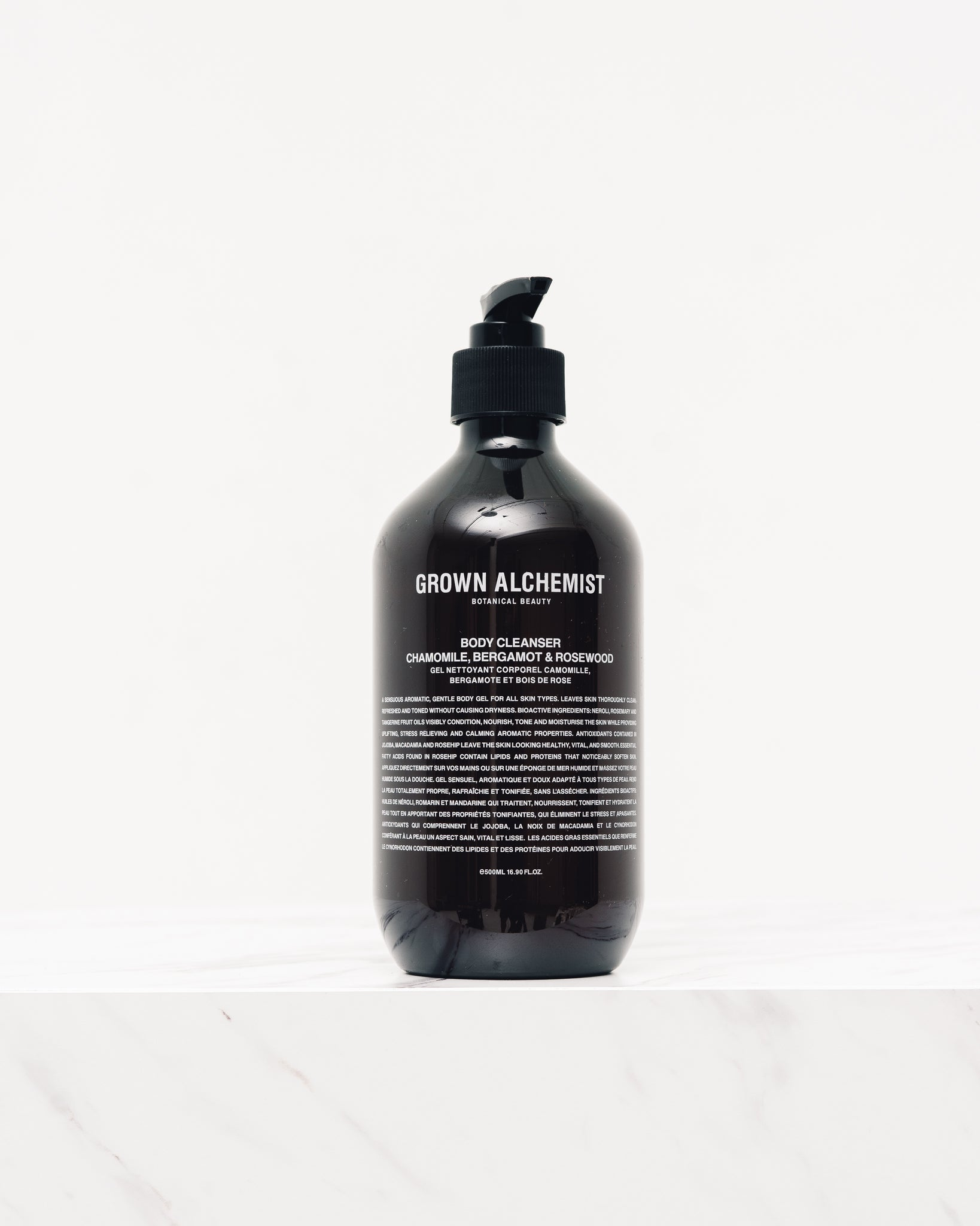 Grown Alchemist Body Cleanser, Chamomile, Bergamot & Rosewood