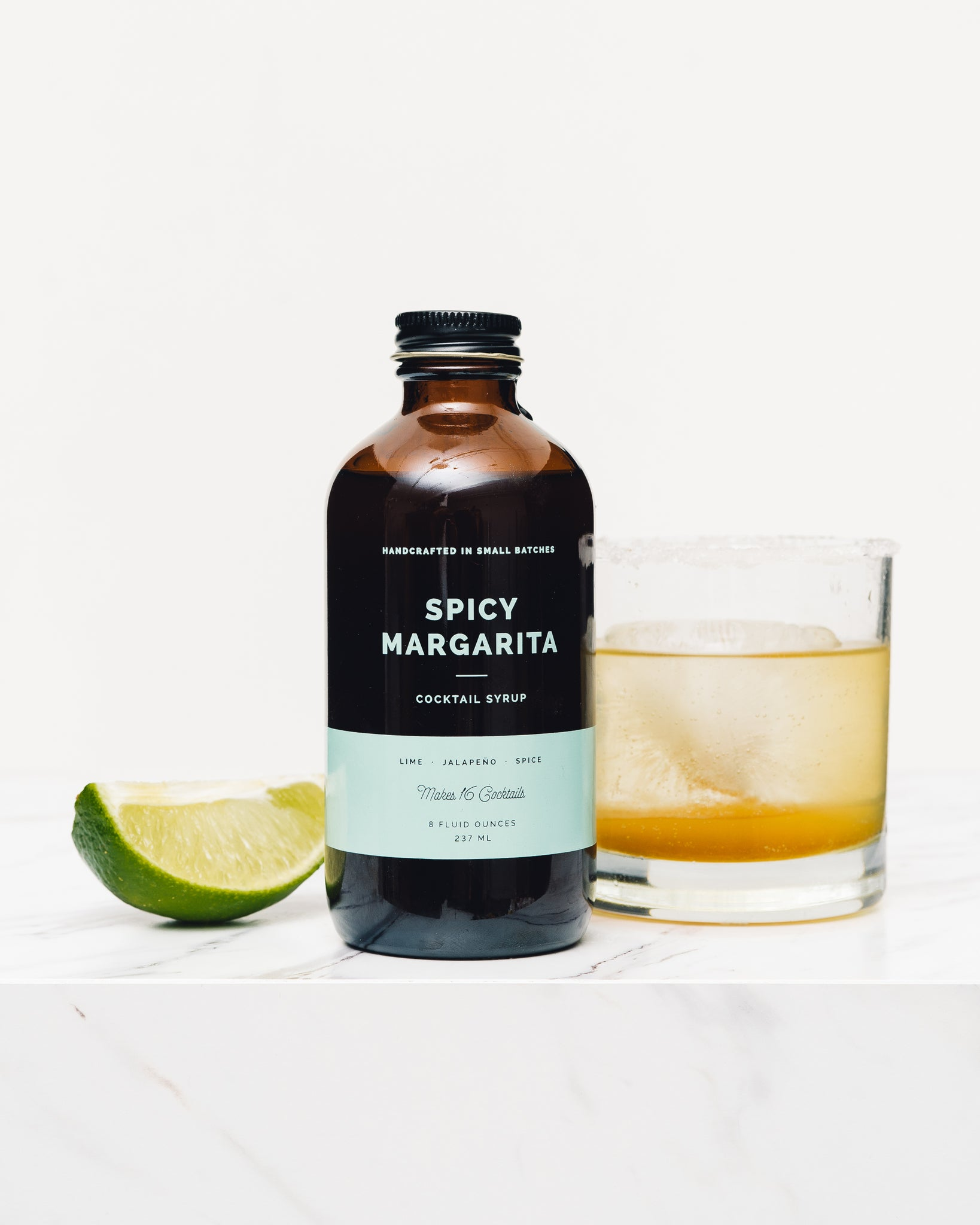 Cocktail Syrup, Spicy Margarita