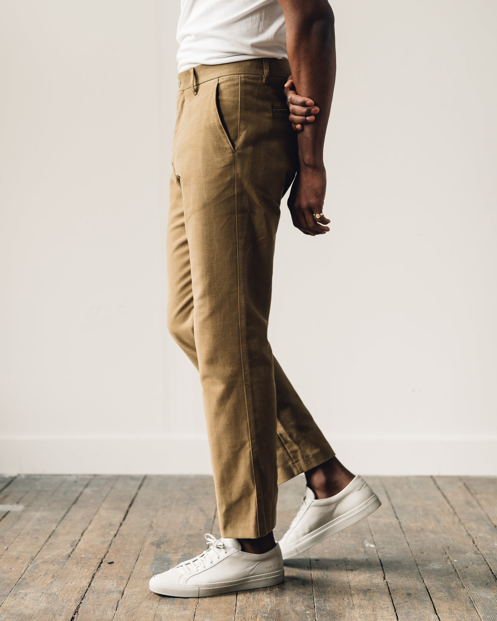 Norse Projects Haga Brushed Moleskin Pant, Camel