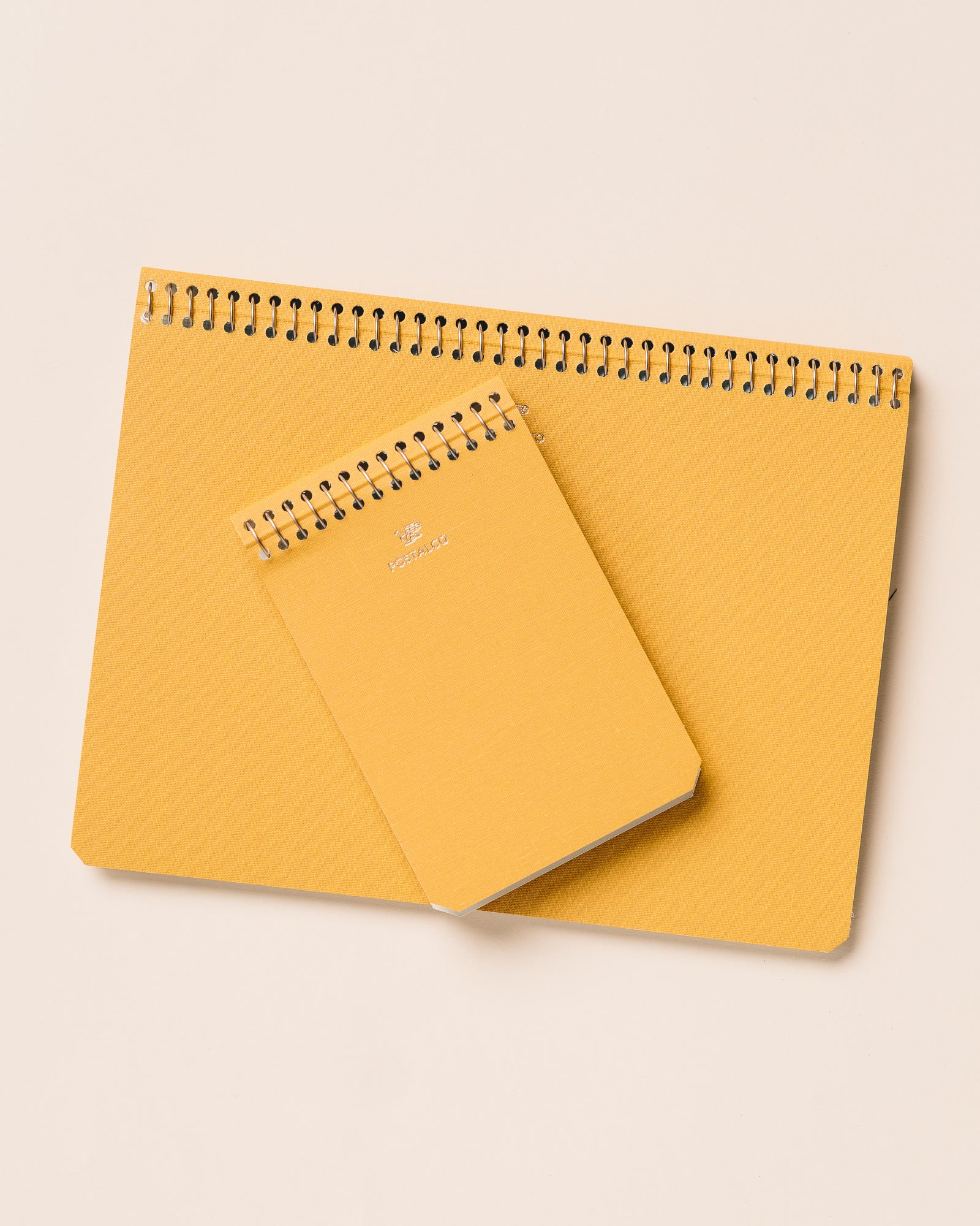 Postalco A7 Small Notebook, Yellow