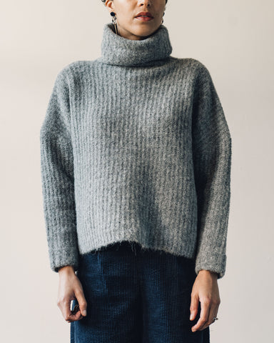 7115 Heavy Ribbed Turtleneck, Husky