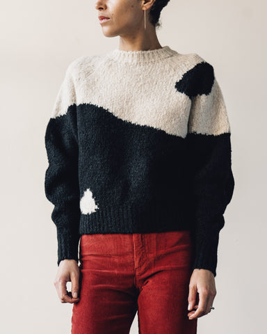 Paloma Wool Ying Yang Sweater, B&W
