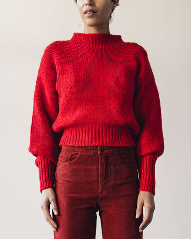 Paloma Wool Noche Sweater, Red
