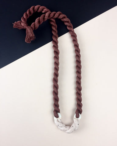 Barrow Mini Rope Necklace