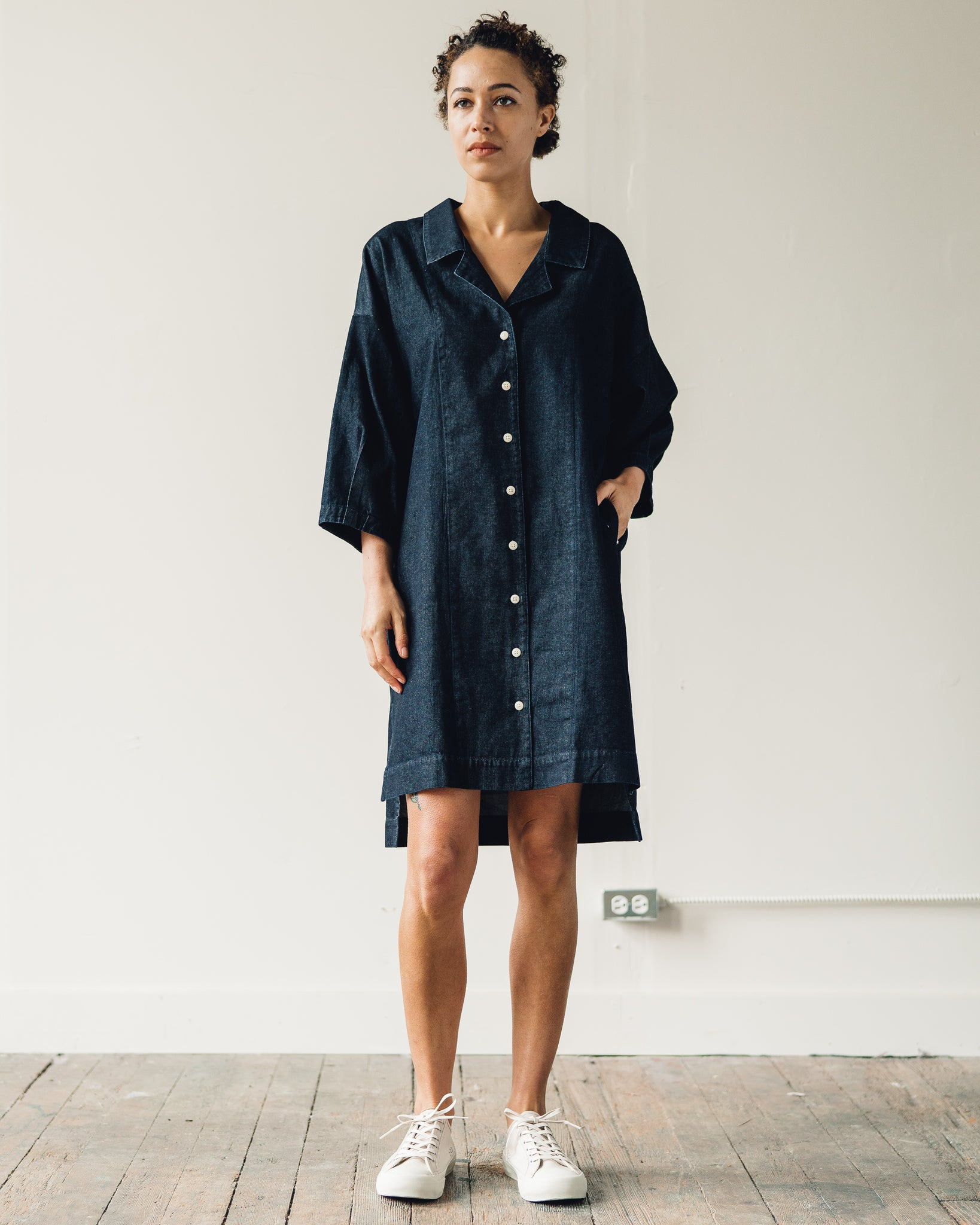 Ilana Kohn Harrison Dress, Denim