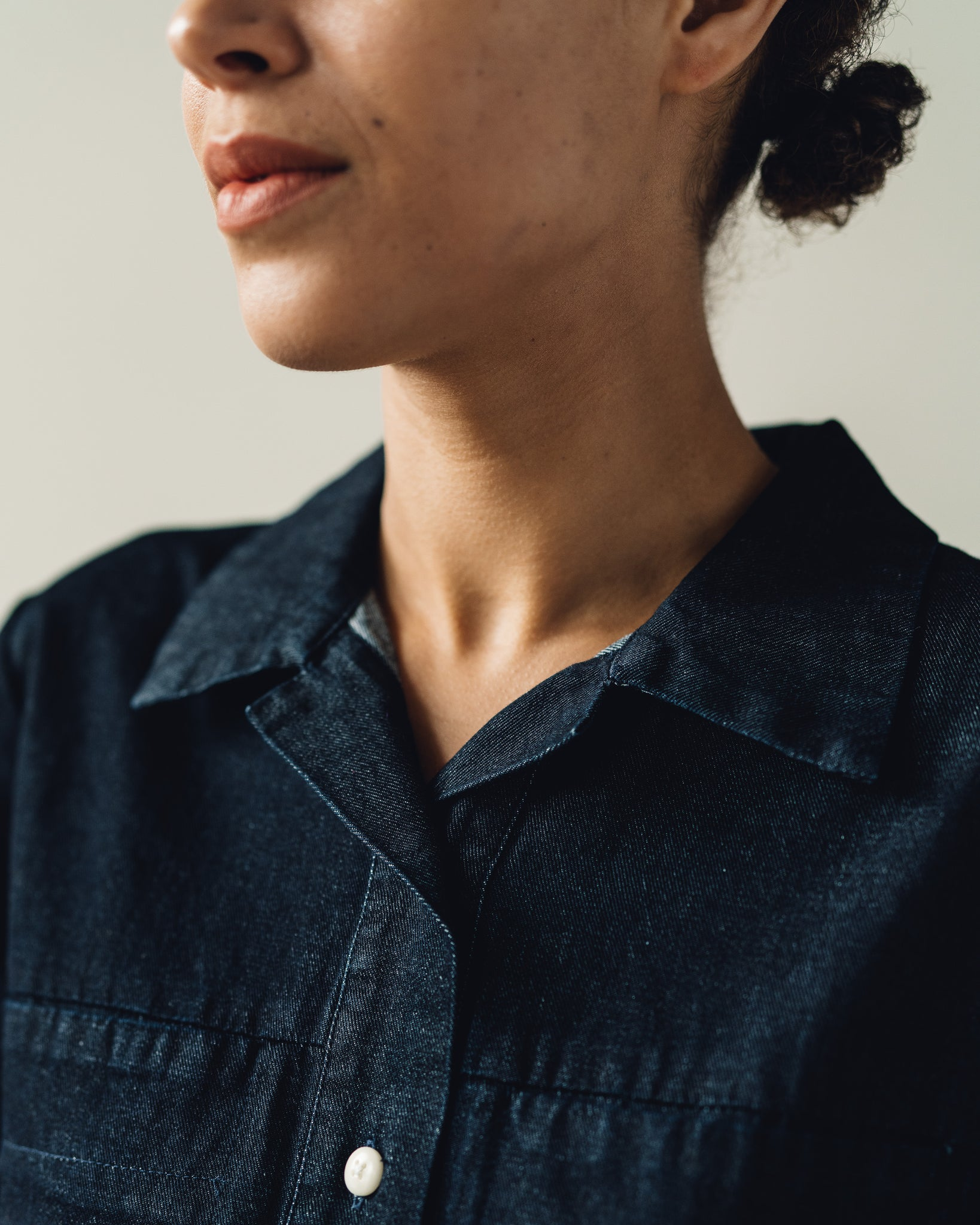 Ilana Kohn Tia Coverall, Dark Denim