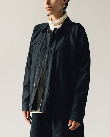 Jan-Jan Van Essche Jacket #30, Black Soft Twill