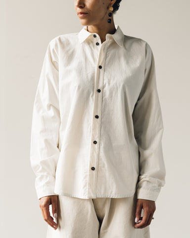 Jan-Jan Van Essche Shirt #69, Natural Light Buff Cotton