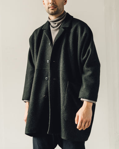 Jan-Jan Van Essche Coat #21, Black Forest Loden