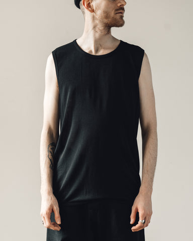 Jan-Jan Van Essche Tank #13, Black Washi