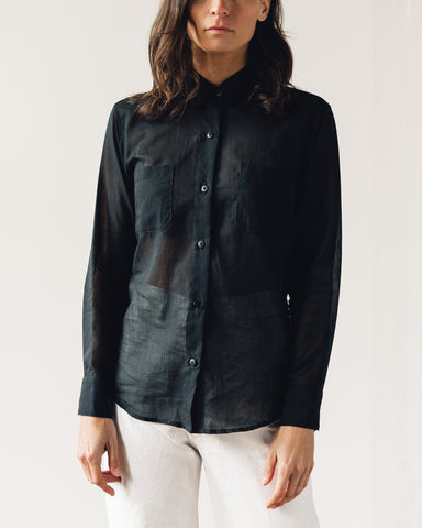 Jesse Kamm Georgio Button Down, Black