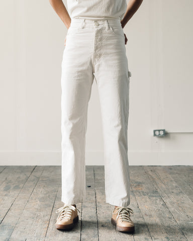 Jesse Kamm Handy Pant, Salt White