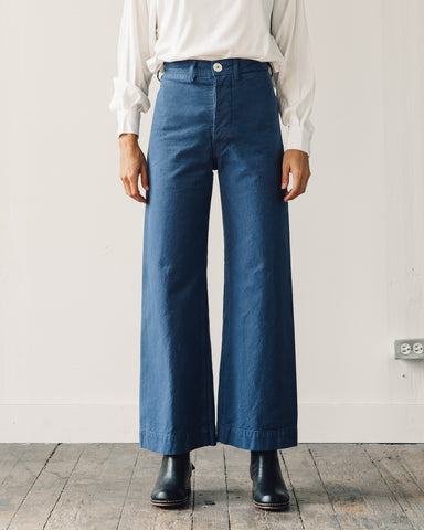 Jesse Kamm Sailor Pant, Mechanics Blue