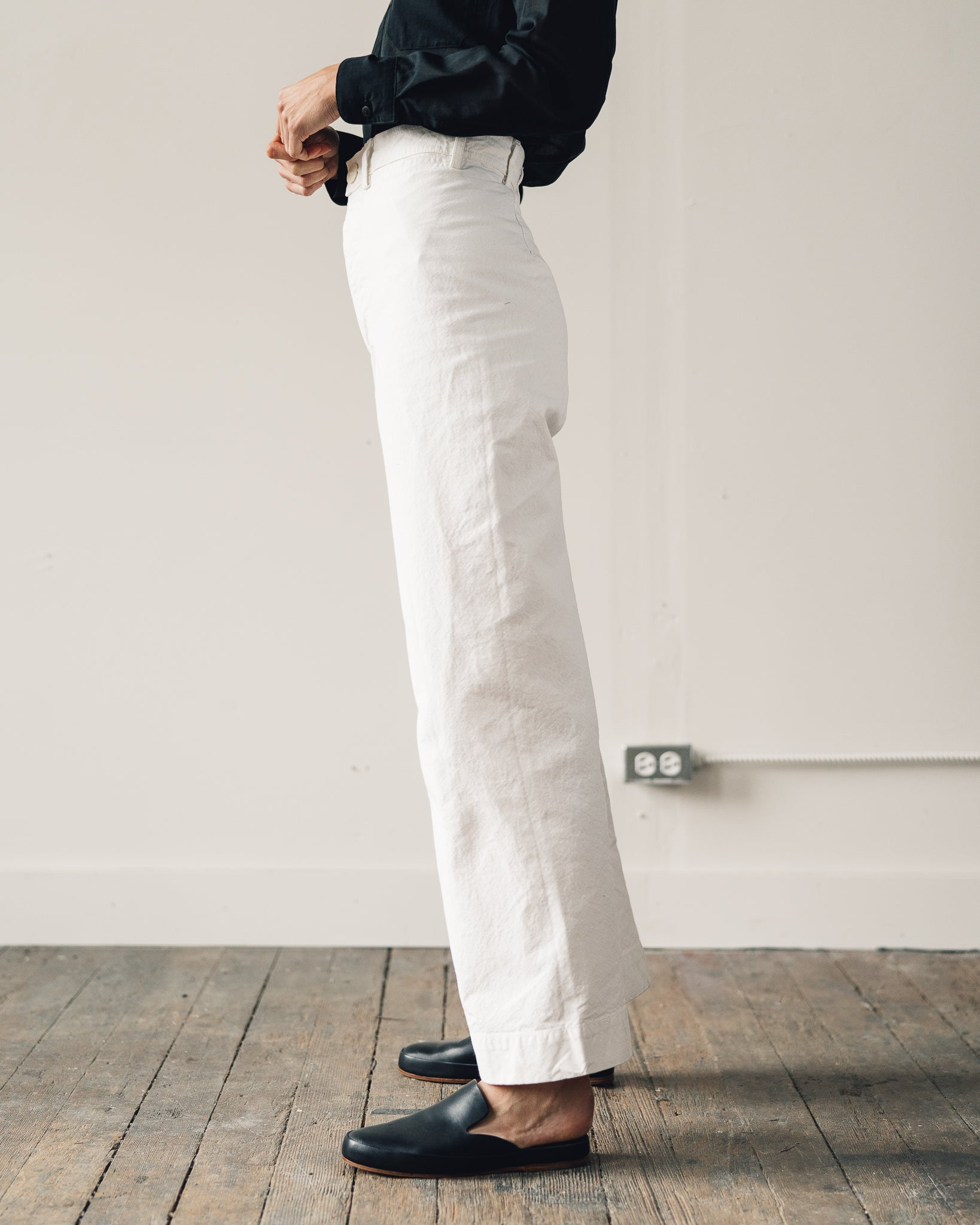 Jesse Kamm Sailor Pant, Salt White