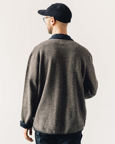 Kapital Beach Knit Kakashi Cardigan, Charcoal