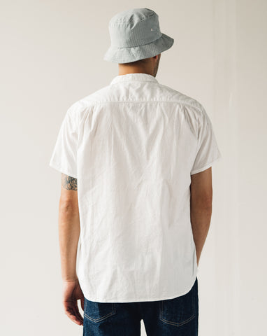 Kapital Ox Goodman Pull Shirt, White