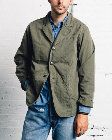 Kapital Ripstop Hospital Jacket, Khaki