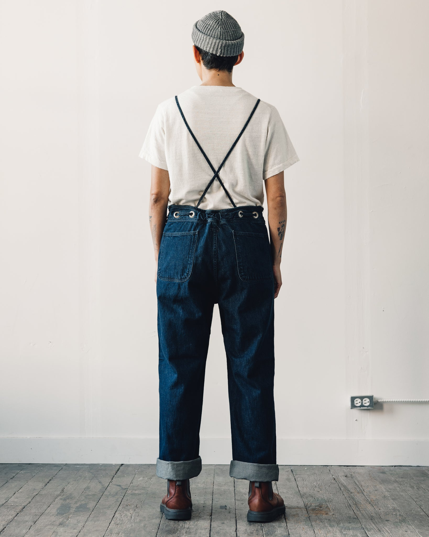 Kapital 12oz Denim Welder Overall, Indigo