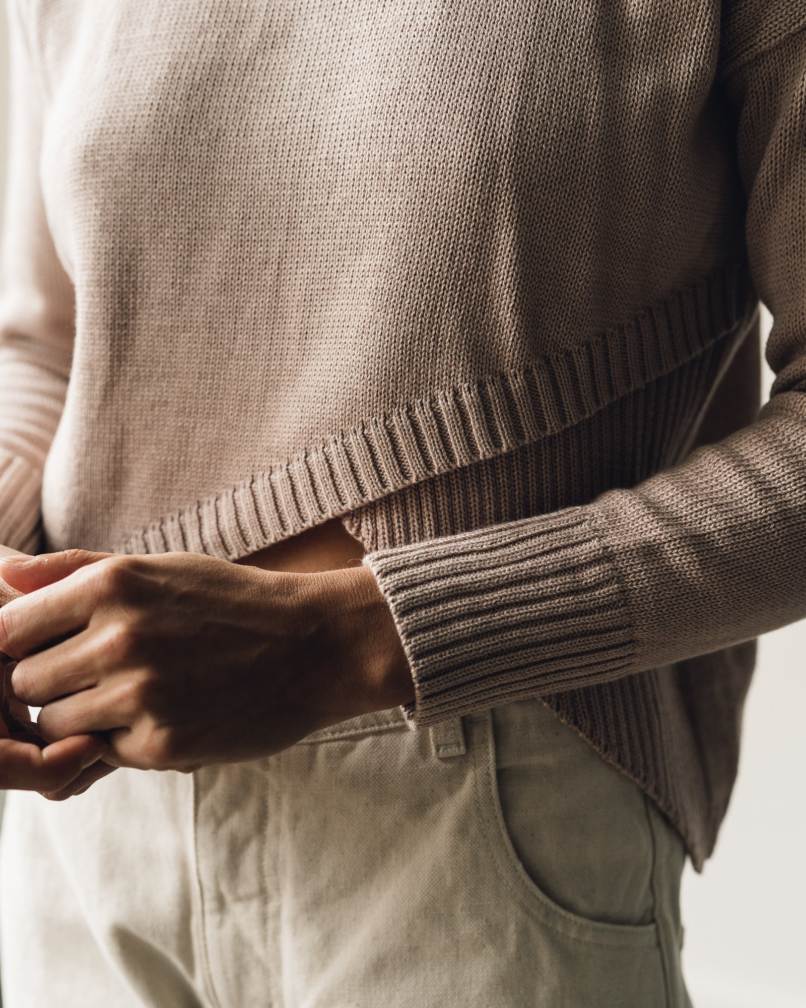 Kordal Anni Sweater, Oyster