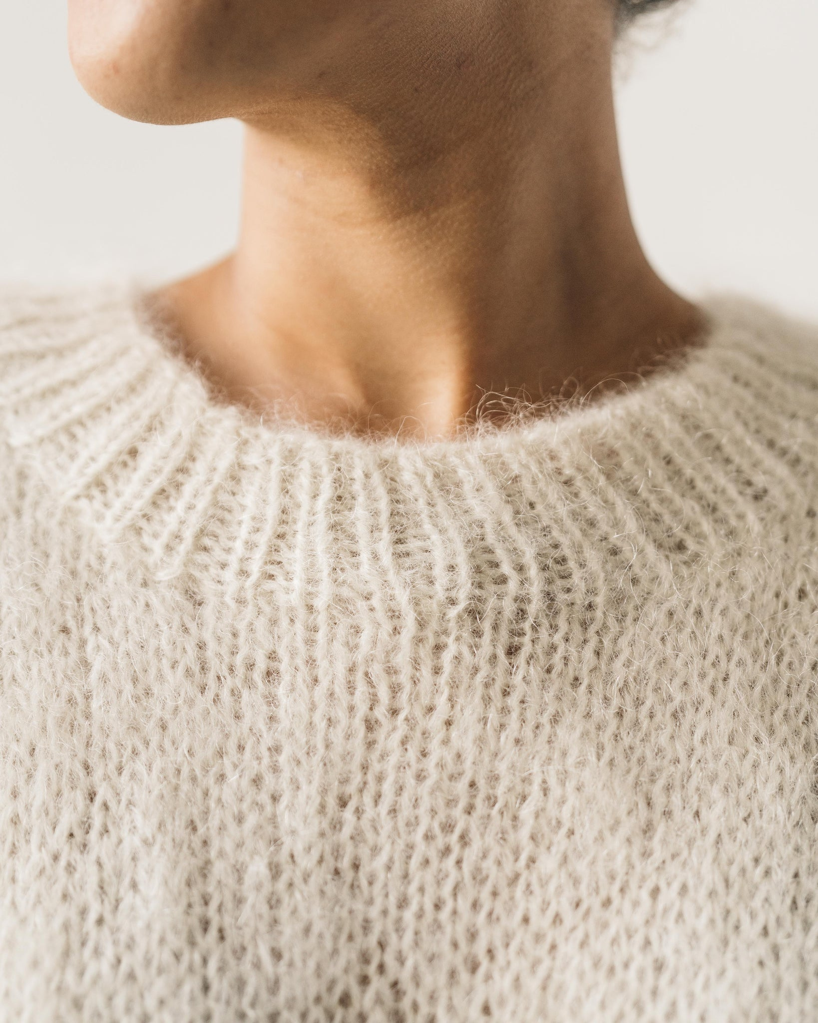 Kowtow Cloud Hand Knit Sweater, Natural