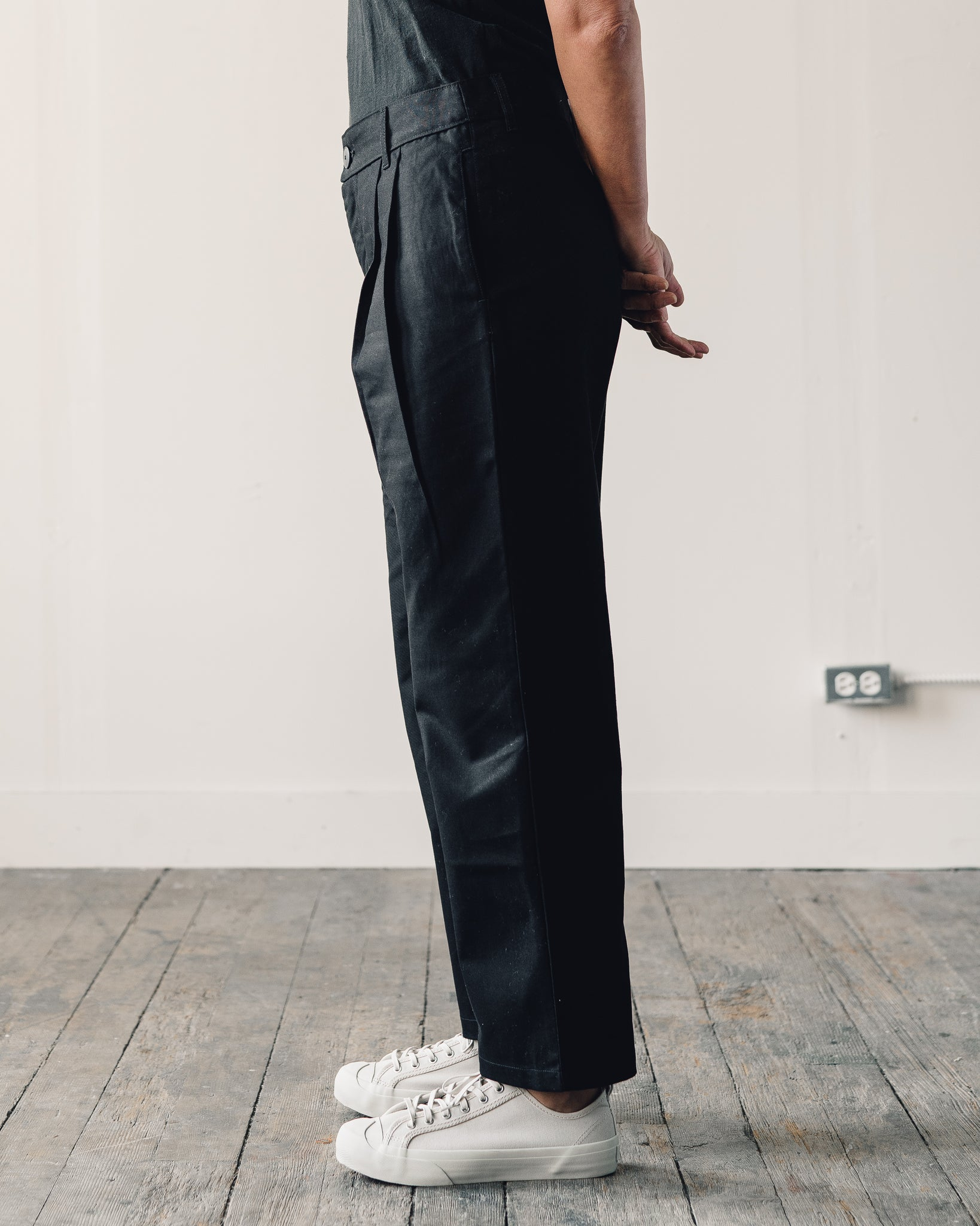 Kowtow Faculty Pant, Black Canvas