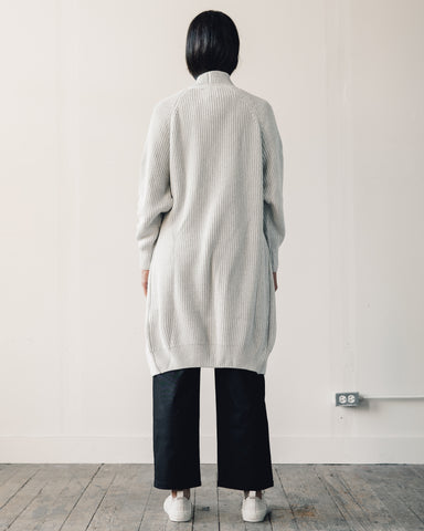 Kowtow Journey Cardigan, Grey Marle