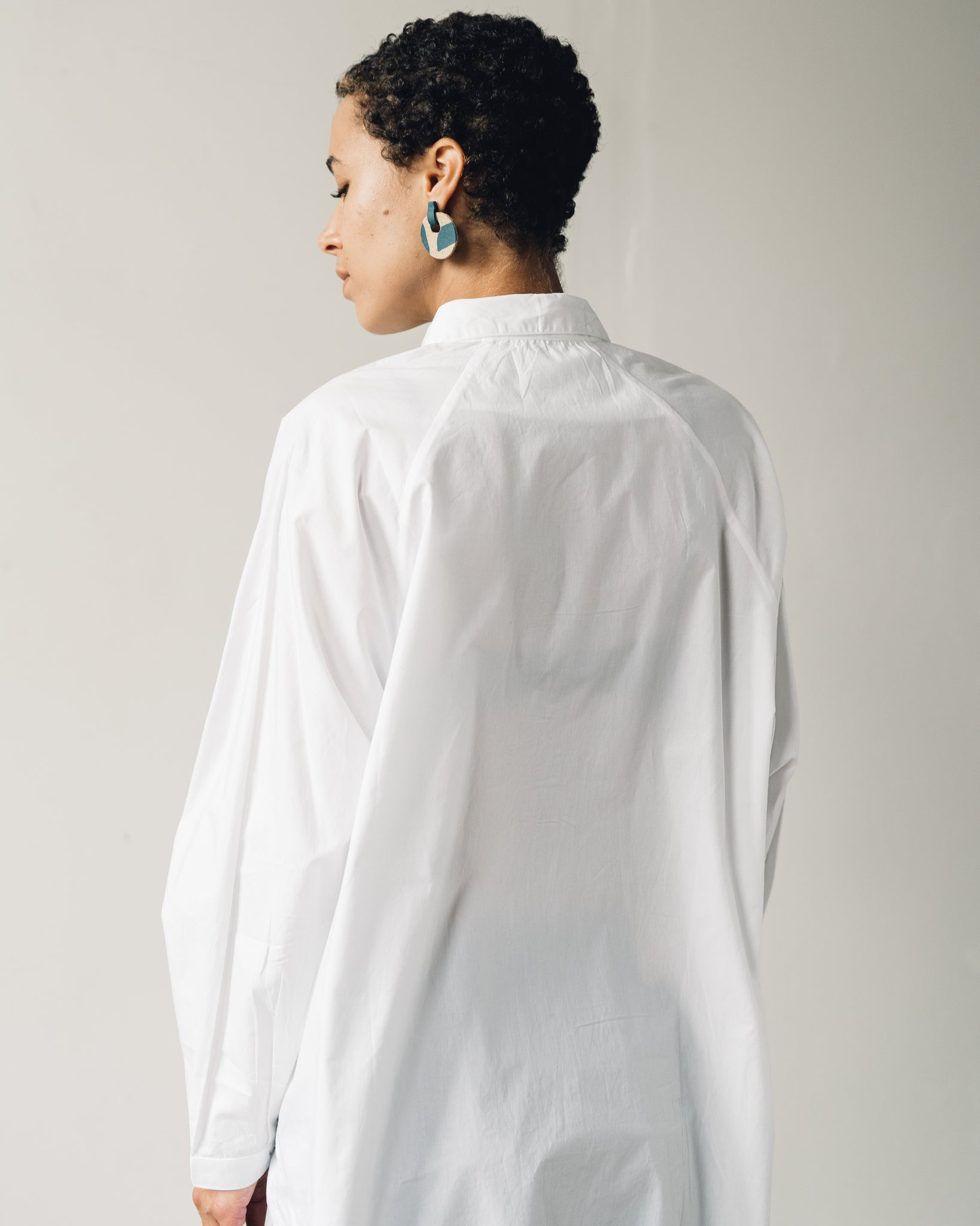Kowtow Oversized Shirt, White