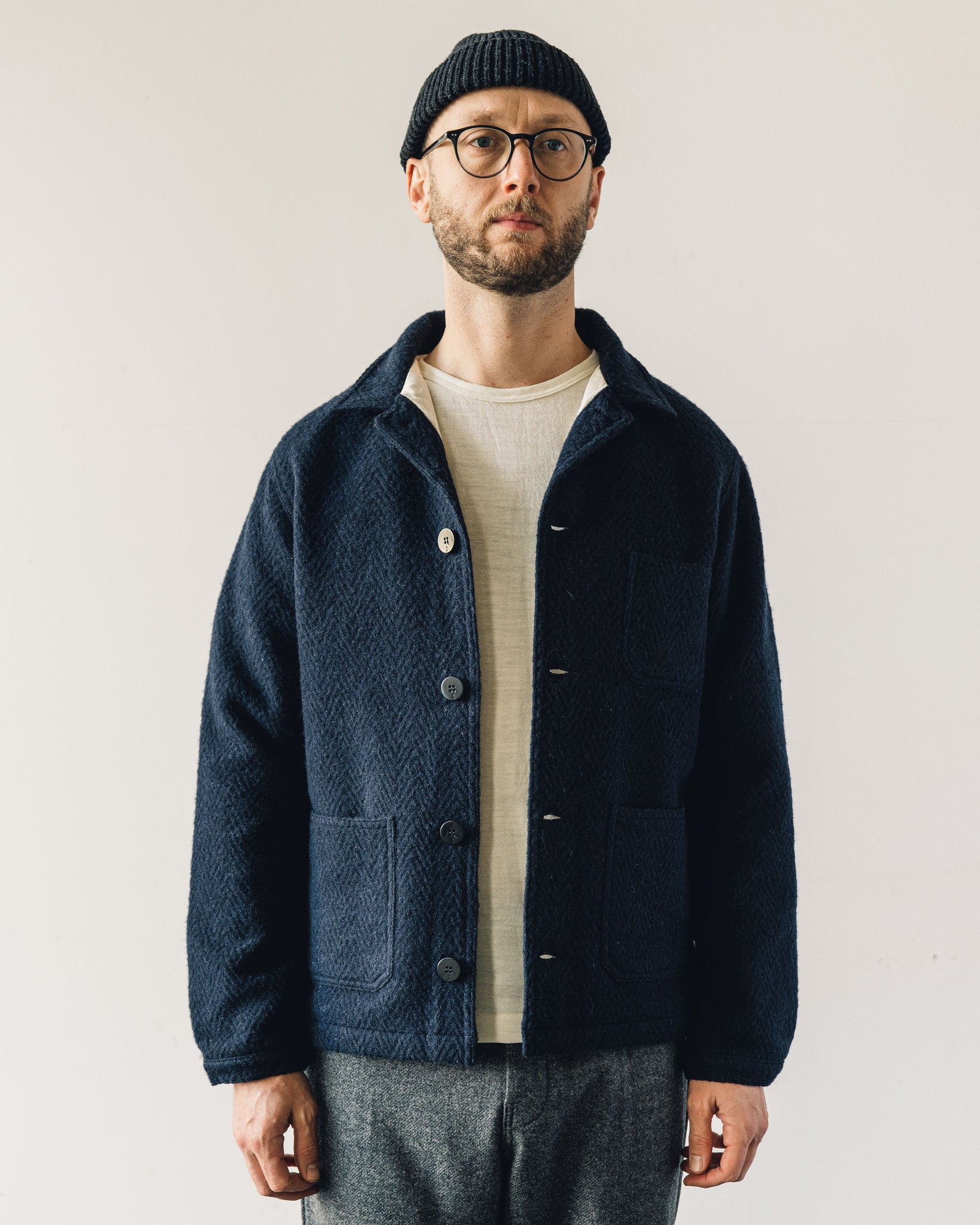 La Paz Baptista Wool Jacket, Navy