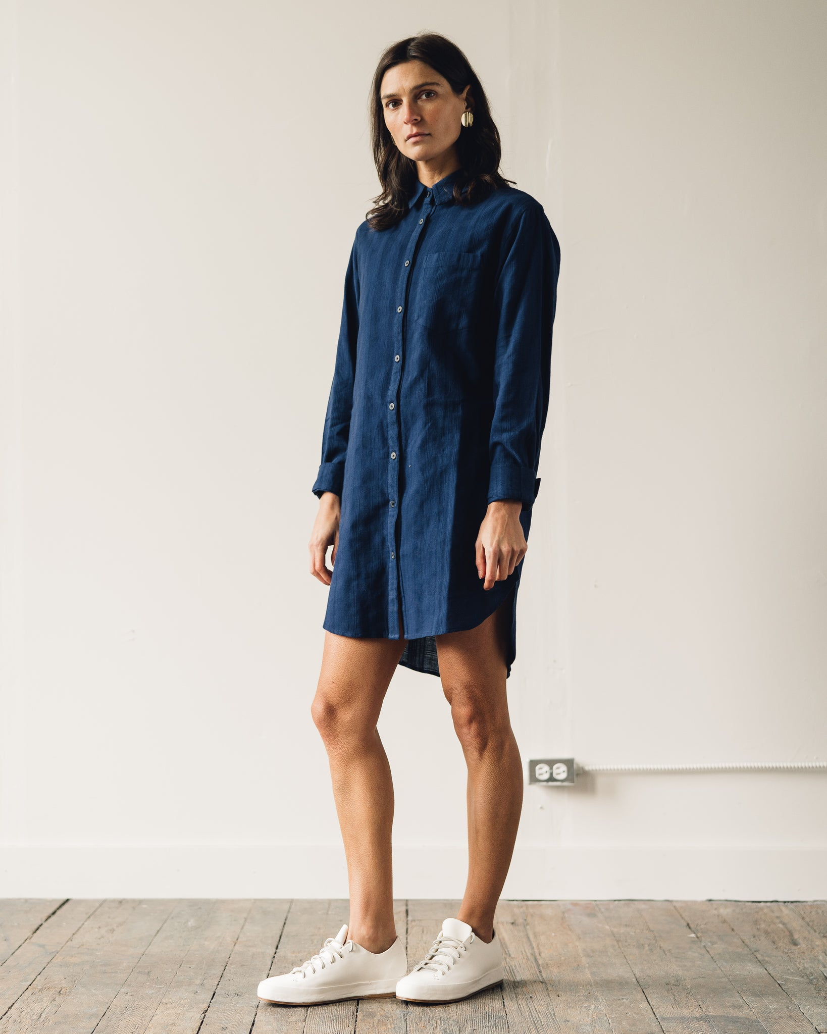 Mara Hoffman Bennett Dress, Navy