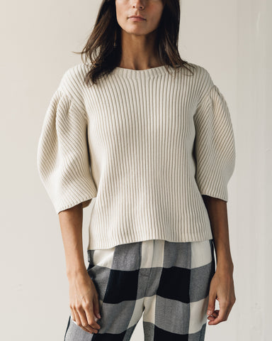 Mara Hoffman Inga Sweater, Cream