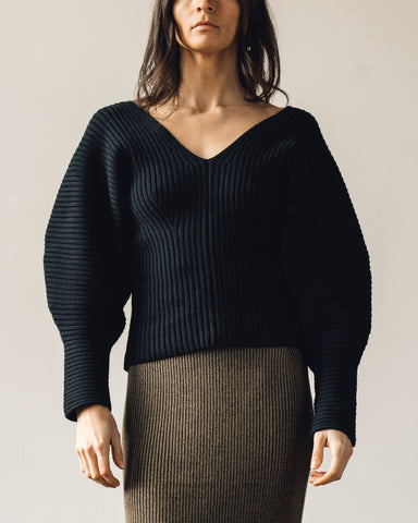 Mara Hoffman Olla Sweater, Black