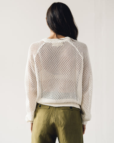 Mara Hoffman Uschi Sweater, Cream