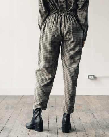 Mr. Larkin Bell Plaid Pant, Olive