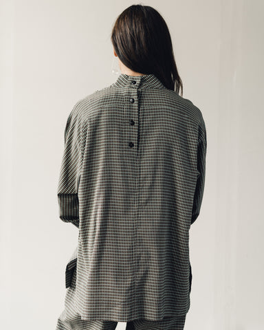 Mr. Larkin Rainey Plaid Shirt, Olive