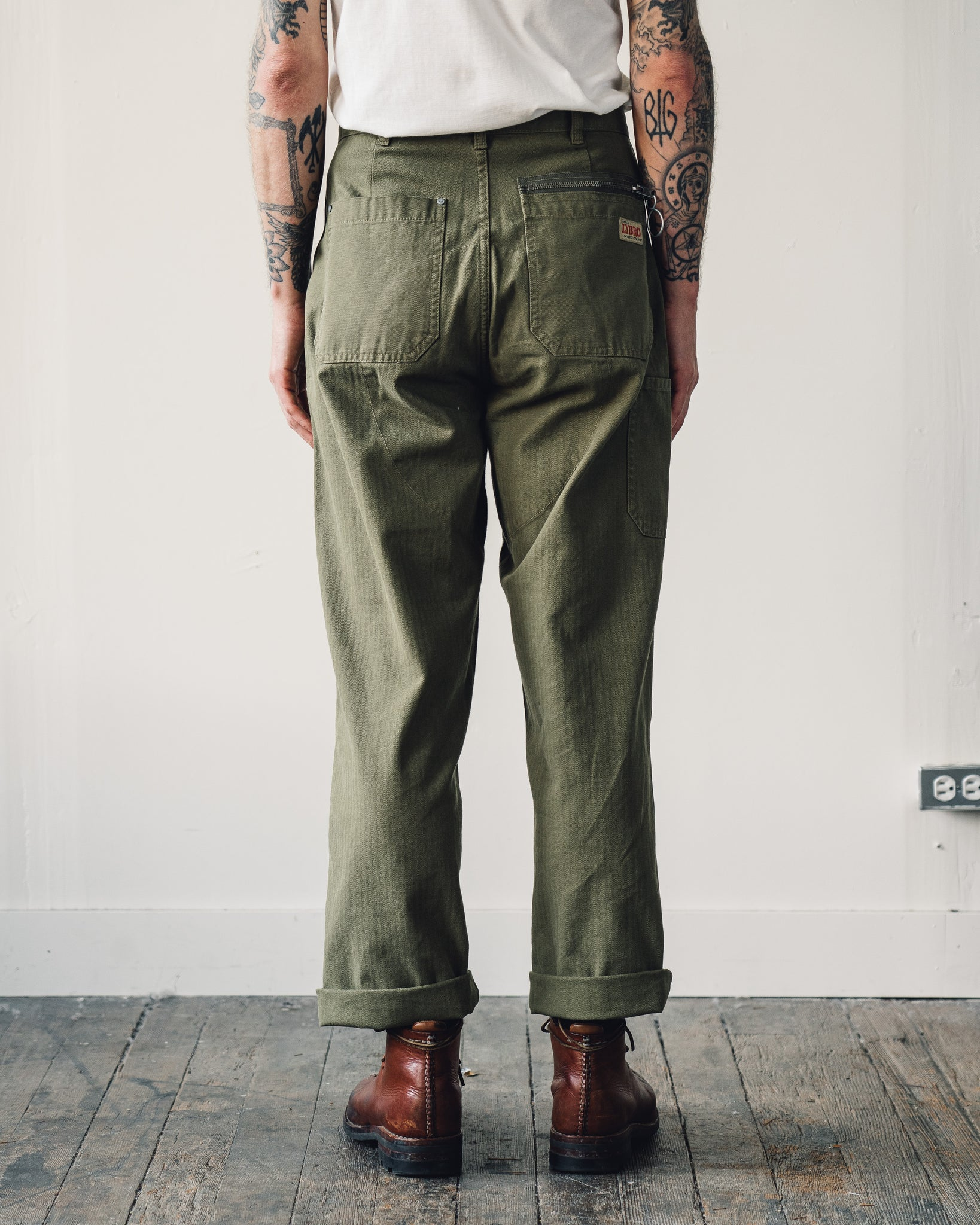 Nigel Cabourn Welders Pant, Army