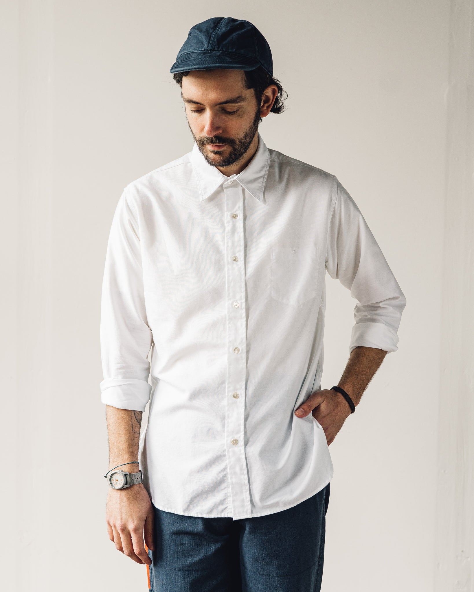 Nigel Cabourn Basic Oxford