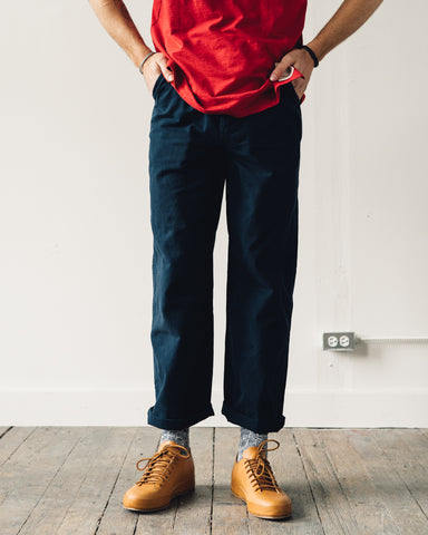 Nigel Cabourn Military Pant, Black/Navy