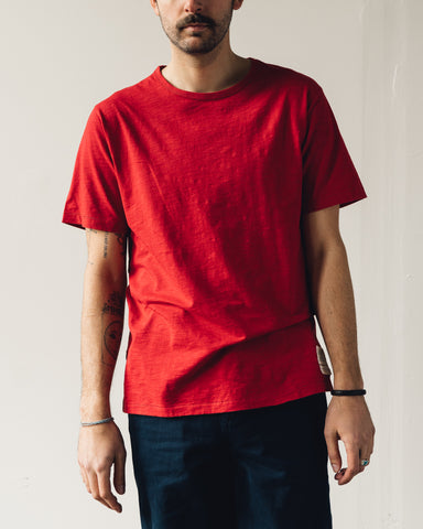 Nigel Cabourn Short Sleeve Tee, Red