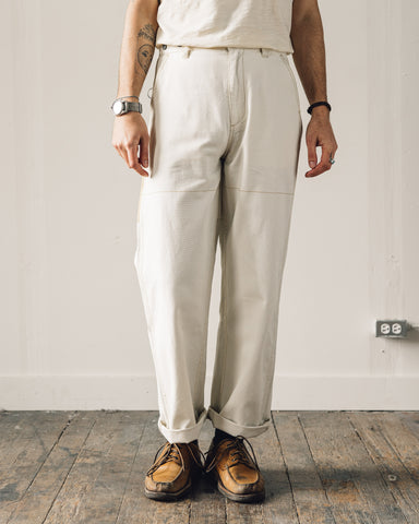 Nigel Cabourn Welders Pant, Natural Contrast Pocket