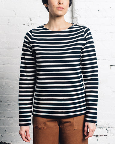 Norse Projects Inge Classic Stripe, Navy