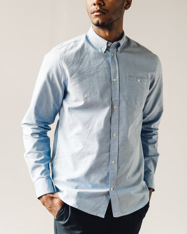 Norse Projects Anton Oxford, Pale Blue