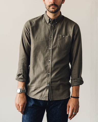Norse Projects Anton Shirt, Beech Green