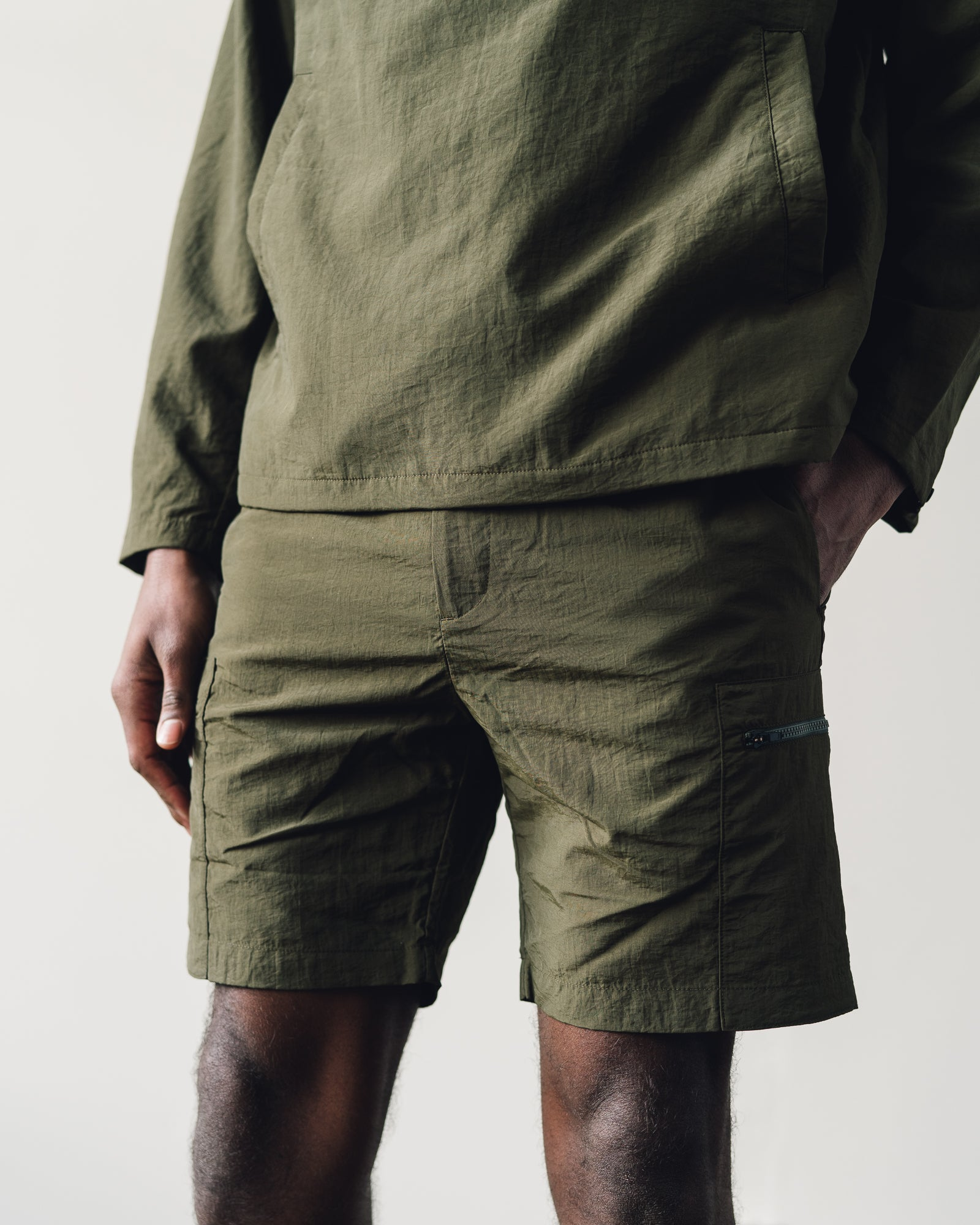 Norse Projects Luther Straight Short, Ivy Green