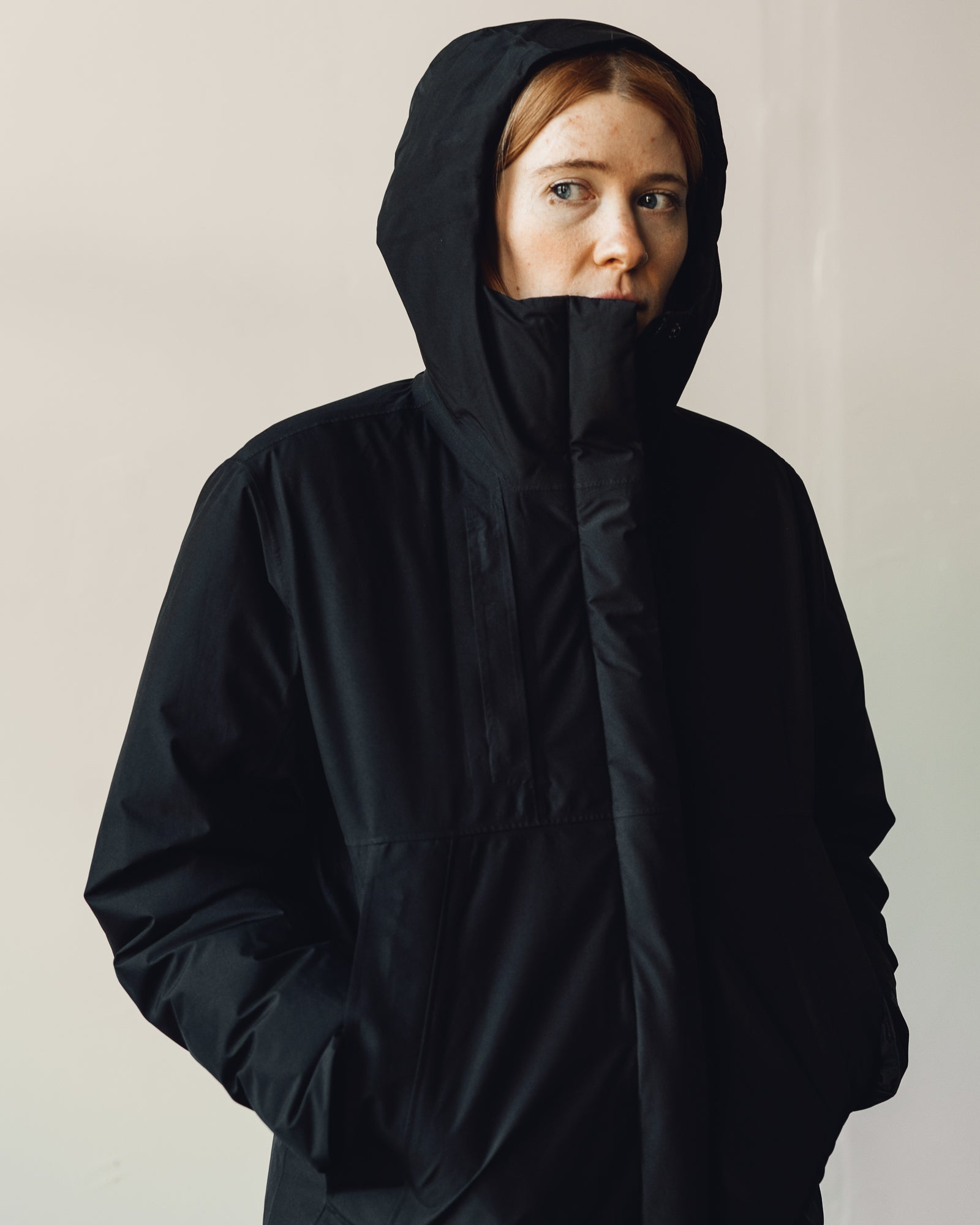 60cd699ce6 Norse Projects Oda GORE-TEX Jacket, Black | Glasswing