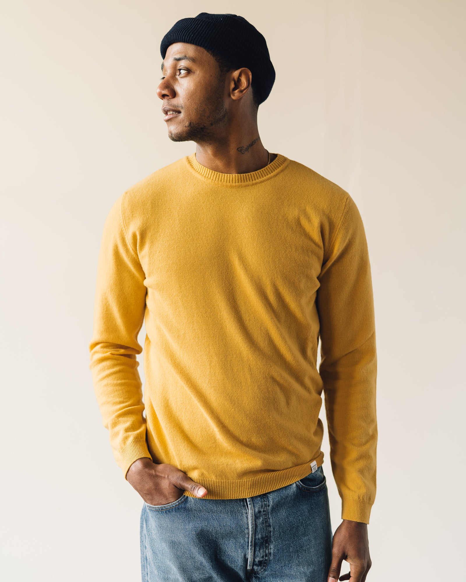 Norse Projects Sigfred Light Wool, Sunwashed Yellow